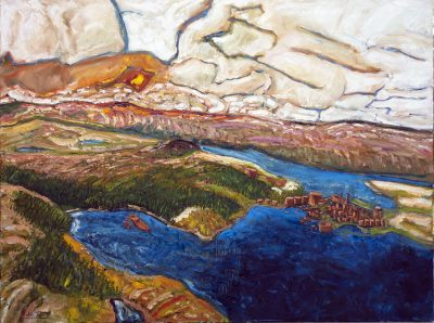 256 - Hawkes Harbour 36x48
