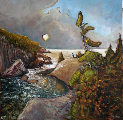 321 - Big River, Flat Rock 30x30